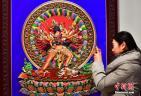 传统清宫刺绣等技艺展现身河北博物院