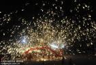 重庆:舞火龙 迎新春