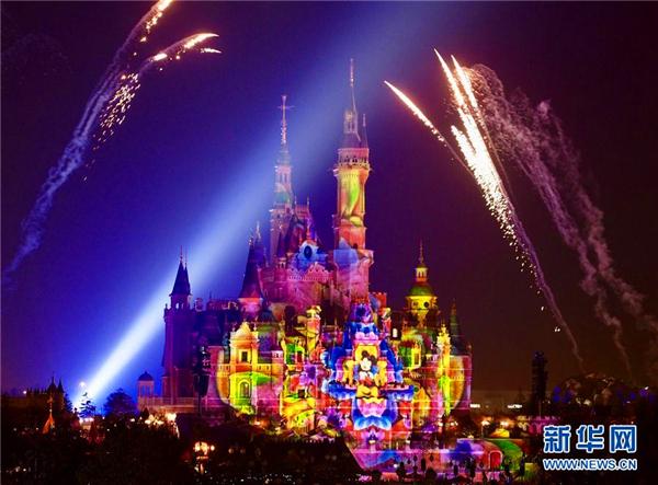 上海迪士尼乐园游客已突破1000万
