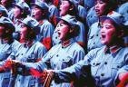 百人合唱团 献礼建军节